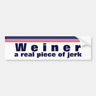 A Real Piece of Jerk Car Bumper Sticker