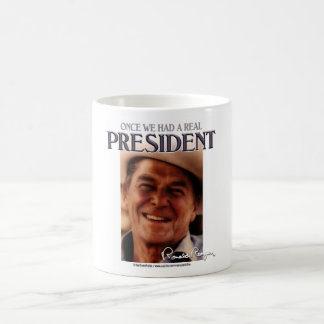 A Real President Classic White Coffee Mug