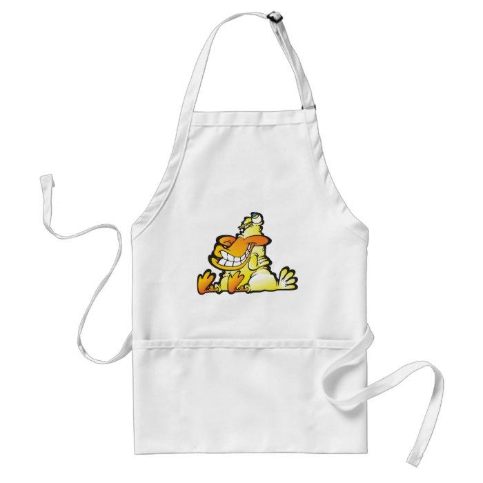 A real quack adult apron