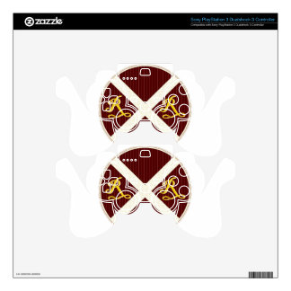 A Really Neat Railroad Crossing Sign Skin For PS3 Controller
