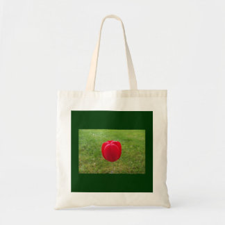 A Really Red Tulip Tote Bag