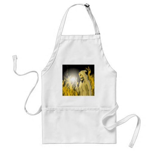 A Reaper in Hell (Gold) Adult Apron