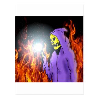 A Reaper in Hell Postcard