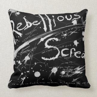 A Rebellious Scream flip sleep pillow
