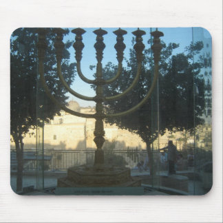 A reconstruction of the menorah of the temple mousepads