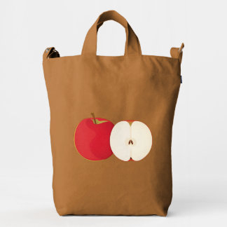 A Red Apple a Day Duck Bag