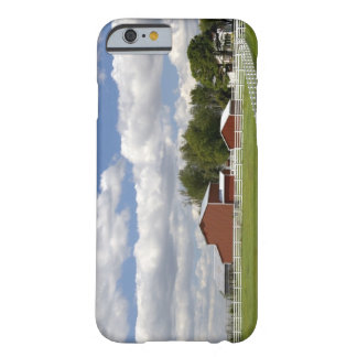 A red barn and farm at Pamona, Kansas. Barely There iPhone 6 Case