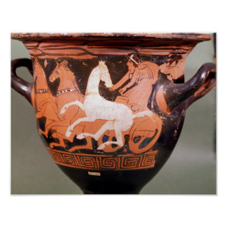 A red-figure bell krater poster
