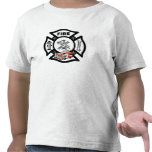 A Red Fire Truck Rescue T Shirt