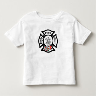 A Red Fire Truck Rescue Toddler T-shirt