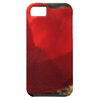 A Red Flower For People Who Love iPhone 5 Covers