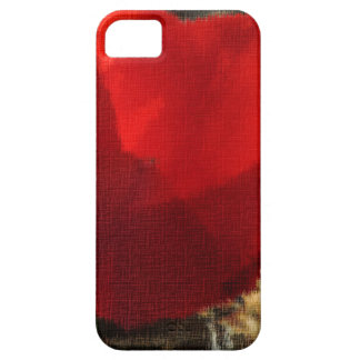 A Red Flower For People Who Love iPhone 5 Case