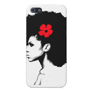 A Red Flower iPhone 5 Cover