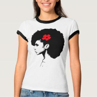 A Red Flower T-Shirt