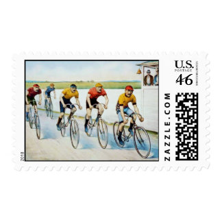 A Red Hot Finish Postage Stamps