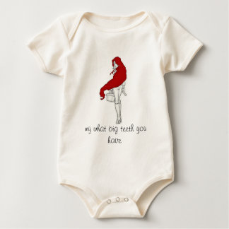 A red riding Hood Baby Bodysuit
