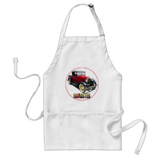 A RED ROADSTER ADULT APRON