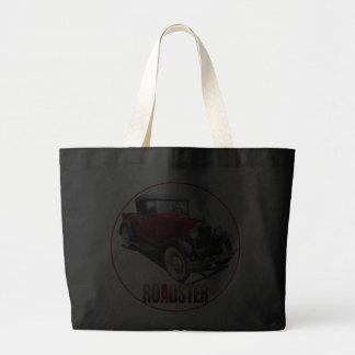 A RED ROADSTER JUMBO TOTE BAG