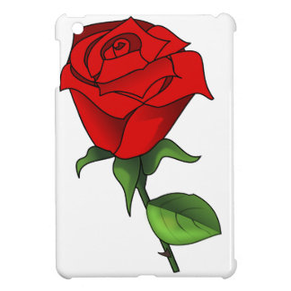 A Red Rose Clipart Cover For The iPad Mini