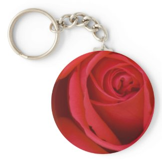 A Red Rose For You keychain