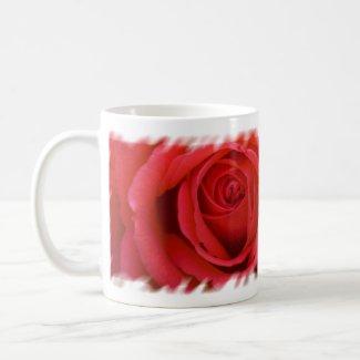 A Red Rose For You mug