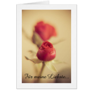A Red Rose for your Sweetheart... Greeting Card gefunden auf Zazzle