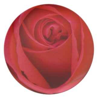 A Red Rose Plates