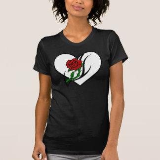 A Red Rose Tattoo T-Shirt