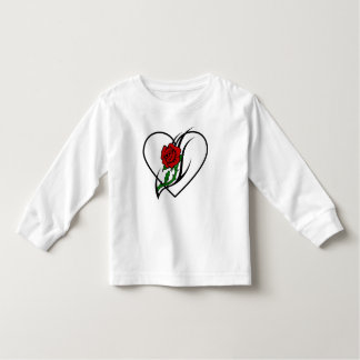A Red Rose Tattoo Toddler T-shirt