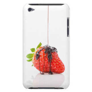 A red strawberry iPod Case-Mate case