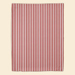 A red striped lace pattern duvet cover