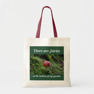 A Red Toadstool very hard to find Tote Bag