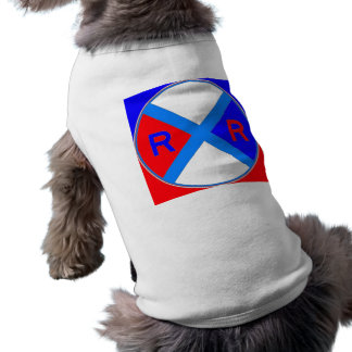 A Red, White, & Blue Sign Pet Tee
