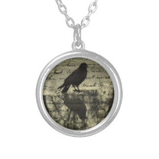 A Reflection Round Pendant Necklace