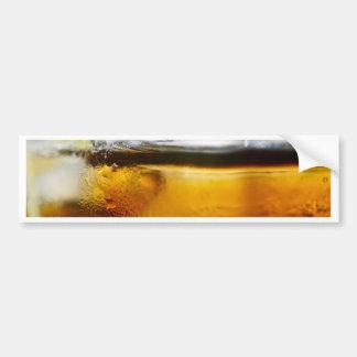 A Refreshing Iced Drink Bumper Sticker