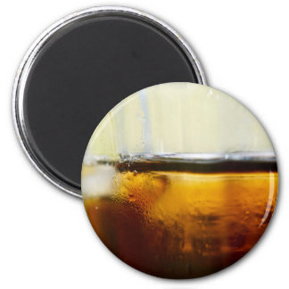 A Refreshing Iced Drink Magnet