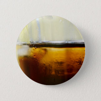 A Refreshing Iced Drink Pinback Button
