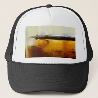 A Refreshing Iced Drink Trucker Hat
