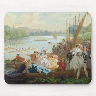 A Regatta at Asnieres during the Second Empire Mouse Pad