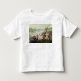 A Regatta at Asnieres during the Second Empire Toddler T-shirt