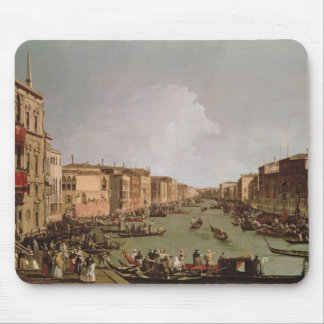 A Regatta on the Grand Canal, c.1735 Mouse Pad