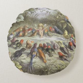 A Rehearsal in Fairy Land, illustration from 'In F Round Pillow