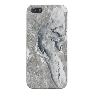 A relatively rare blanket of ice iPhone SE/5/5s case