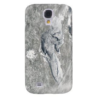 A relatively rare blanket of ice samsung galaxy s4 cover