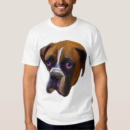 A Relaxed Boxer Tee Shirt