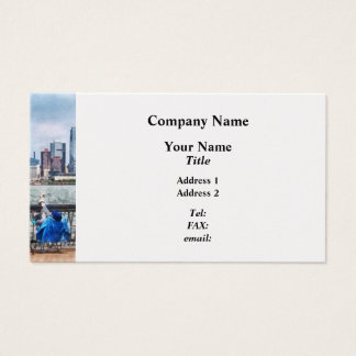 A Relaxing Day For Fishing Business Card