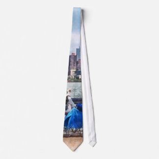 A Relaxing Day For Fishing Tie