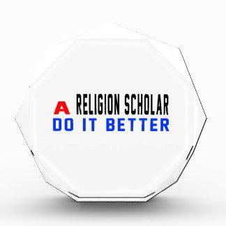 A Religion scholar Do It Better Awards