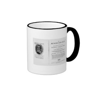 A remonstrance by the Levellers Coffee Mugs
