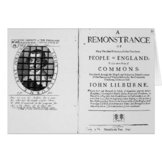 A remonstrance by the Levellers Greeting Card